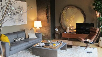 Modern Life Show House Elle Decor Concept Living Room By Beth Martin