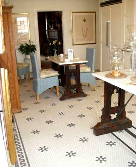 Hexagonal Tile Kitchen Floor