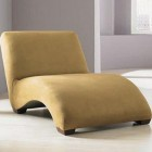 chaise longue - contemporary Klaussner Solway chaise - via Atticmag