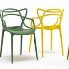 modern chair - Masters chair colors - Kartell via Atticmag