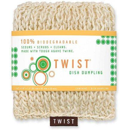 TDish Dumpling biodegradable eco-friendly kitchen cleaning tools - Twist via Atticmag