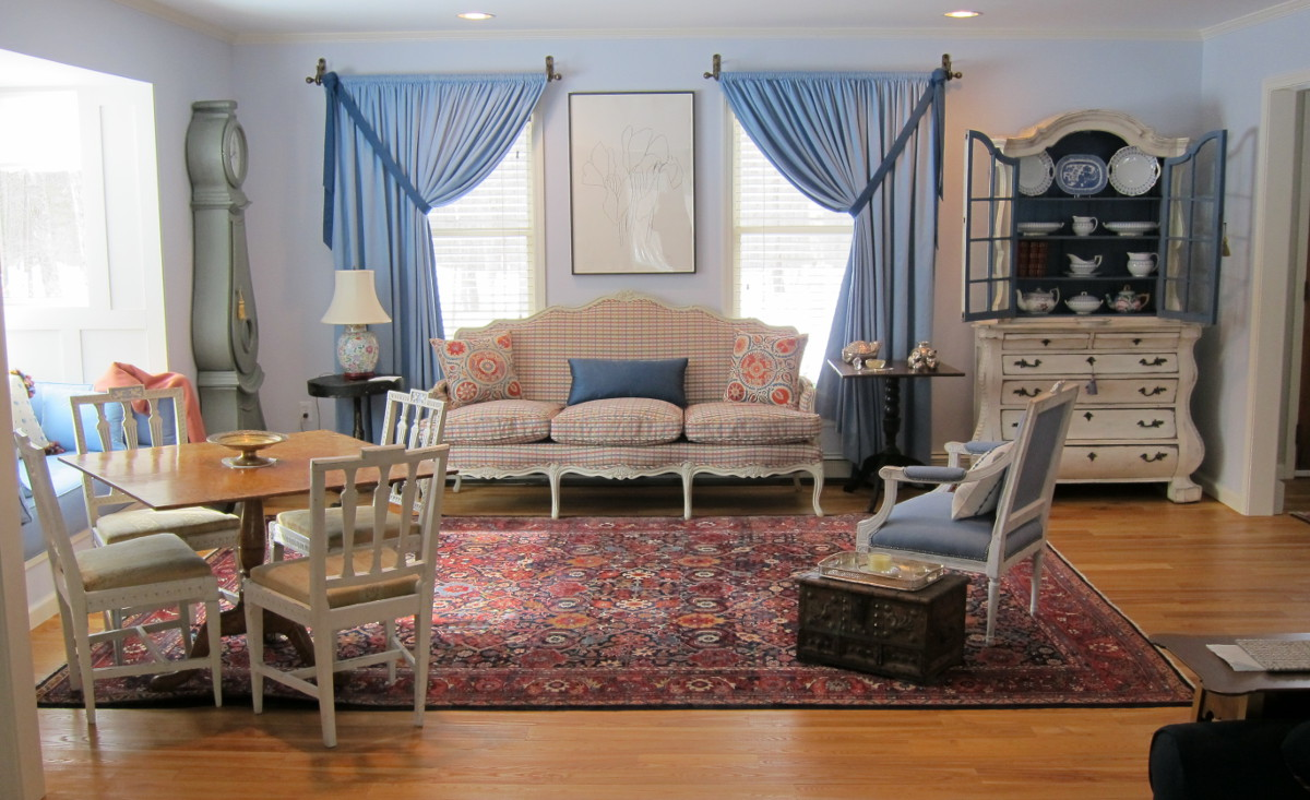 my house - living room before our move from the city - Atticmag