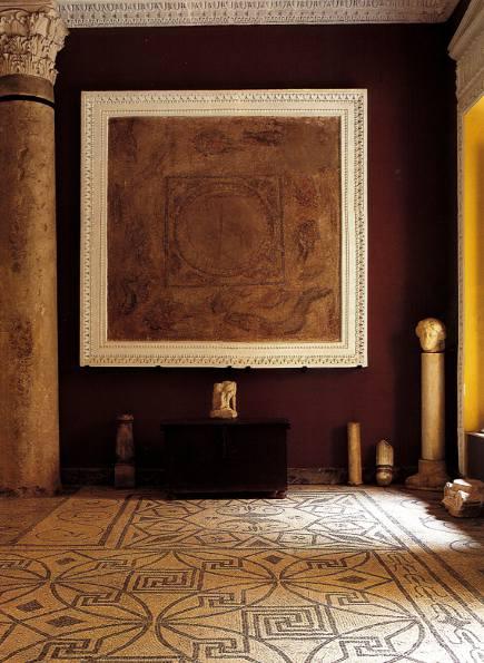 Roman mosaics in the palacio de Lebrija, in Seville