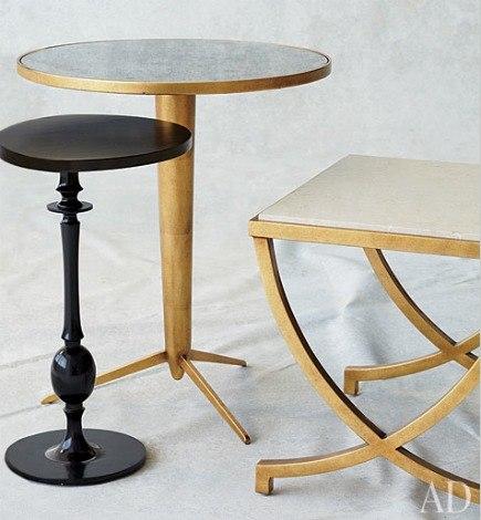 DwellStudio occasional tables for Precedent furniture line