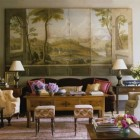 southern style traditional living room from Southern Living Style book via Atticmag