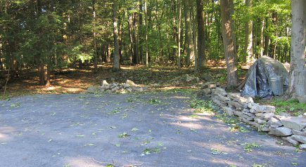 power outage- a small amount of debris from trees that fell on the driveway after the storm - Atticmag