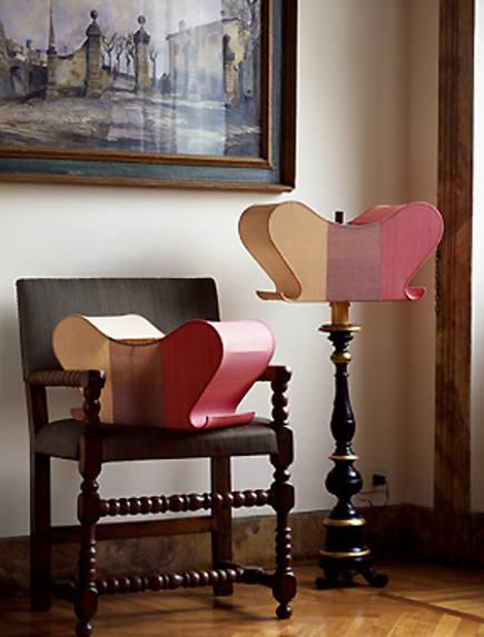 Paola Napoleone New Baroque lampshades