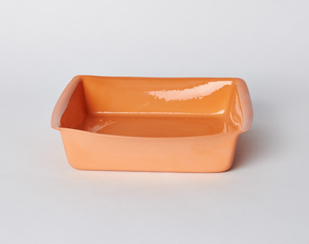 porcelain tableware - medium Limoges porcelain baking dish - Mud Australia via Atticmag