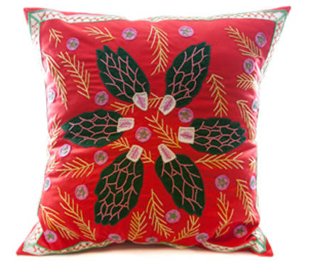 museum store gifts - Honduras Threads pillow at the Dallas Museum of Art online store via Atticmag