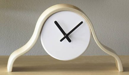 museum store gifts - Real Simple Mantle Clock from the Art Institute of Chicago museum store - via Atticmag