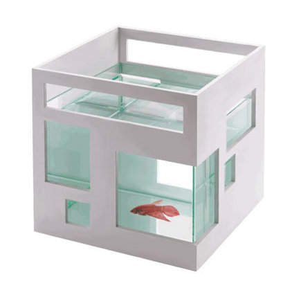 museum store gifts - contempory fish tank from the San Francisco Museum of Art store via Atticmag