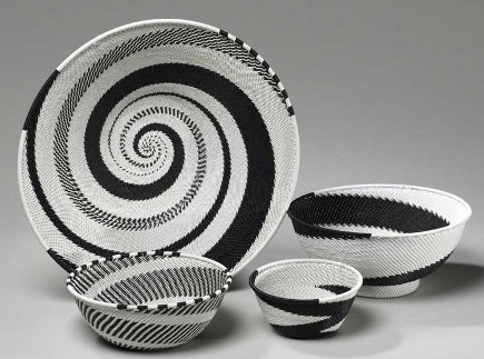 museum store gifts - Zulu telephone wire baskets from the Cleveland Museum of Art store via Atticmag