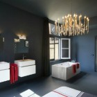 bathroom bedroom combined modern master bathroom bedroom combination by Zecc Architecten Utrecht via Atticmag