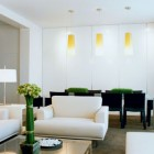 """Living room from the book """"Jennifer Post Pure Space"""" via Atticmag. Photo: Stan Schnier"""