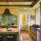 New Hampshire Farmhouse Kitchen