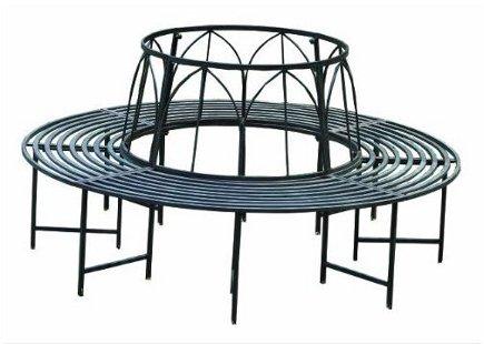 round tree bench - Napco circular tree bench - Amazon.com