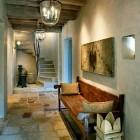 interior stone flooring - reclaimed Jerusalem limestone flooring - Oz Architects via Atticmag
