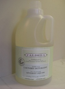 laundry soap test - Caldrea liquid laundry detergent - Atticmag