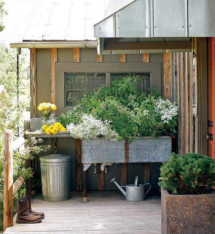 outdoor potting sink - Outdoor Garden Sink