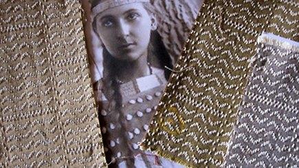 native american inspired fabric - Joe Ruggiero's Stitch fabric for Sunbrella - Sunbrella via Atticmag