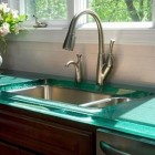 Contemporary Glass Countertops