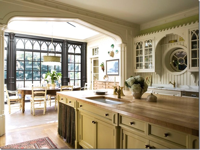 & Gothic Revival Kitchen