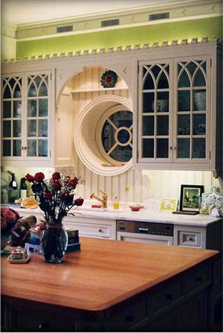 Gothic Revival Kitchen