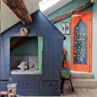 built in bed - custom built-in cabin bed for boy's bedroom - Milk Magazine via Atticmag