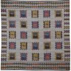 geometric patterned rugs - vintage Swedish kilim rug from Mansour via Atticmag
