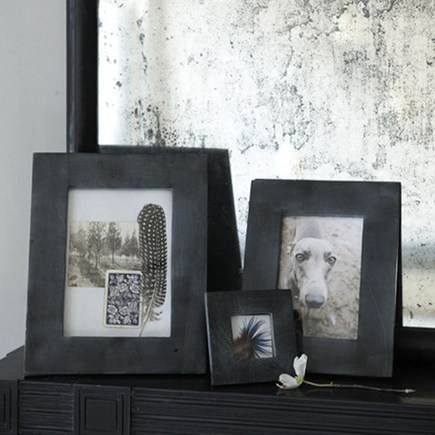 sustainable material gifts - soapstone picture frames from Canvas Home Store via Atticmag