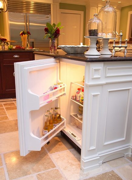 Hidden Kitchen Island Features