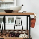 handcrafted kitchen work table by March SF via Atticmag