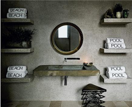 meaning of home - master bath by Jeffrey Alan Marks, photo: Douglas Friedman. via Atticmag