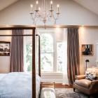bedroom space of attic transformed into an attic master bedroom suite - Atticmag