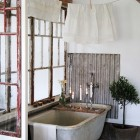 Rustic Tin Bath