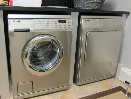 Miele washing machine user guide - Miele 3035 front-loader washer and companion dryer