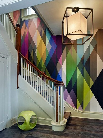 Geometric Wallpaper Envy
