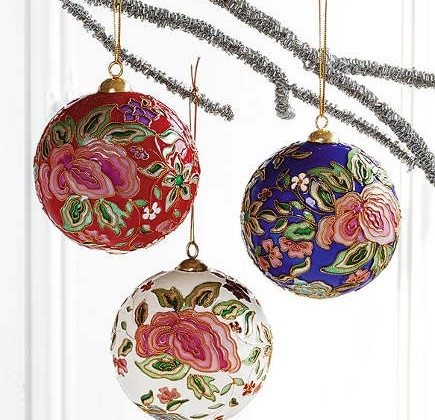 museum store Christmas gifts - Cloisonne Ornaments - Smithsonian Museum via Atticmag