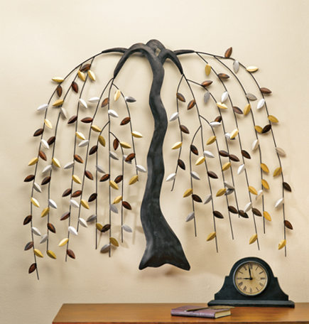 Willow Tree Metal Wall Art - Winterthur Museum via Atticmag