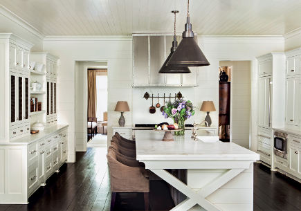 Kitchen from Suzanne Kasler Timeless Style - Erica George Dines Photography - via Atticmag