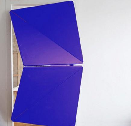 Torggler kinetic door - flip panel, evolution door - Klemens Torggler via Atticmag