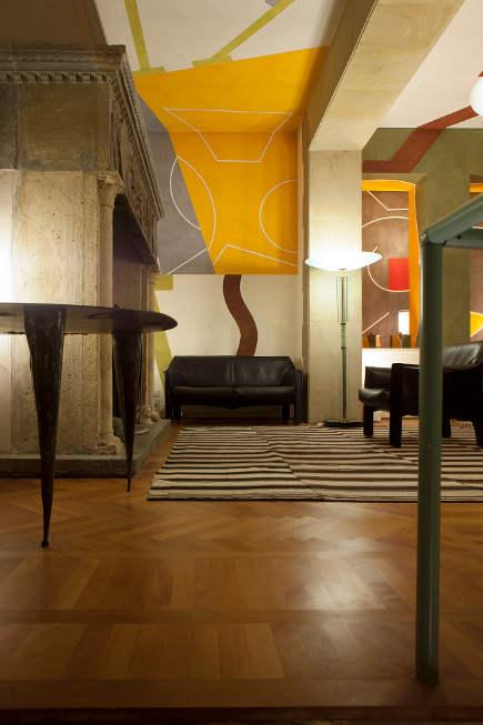 where architects live - home of Mario Bellini - photo by Davide Pizzigoni - salone del mobile via Atticmag