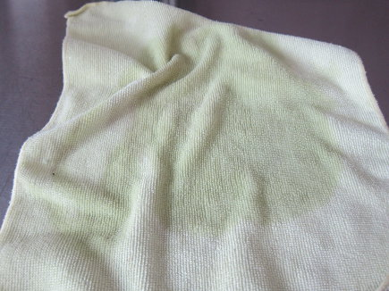 spring cleaning tips - alcohol saturated microfiber cloth - atticmag