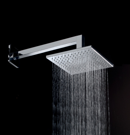 shower system intelligence - Graff solar shower head - Graff via atticmag