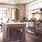 light wood kitchens by John Saladino - Veranda via Atticmag