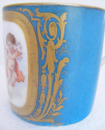 sevres porcelain cupid cup – Trouvais via Atticmag