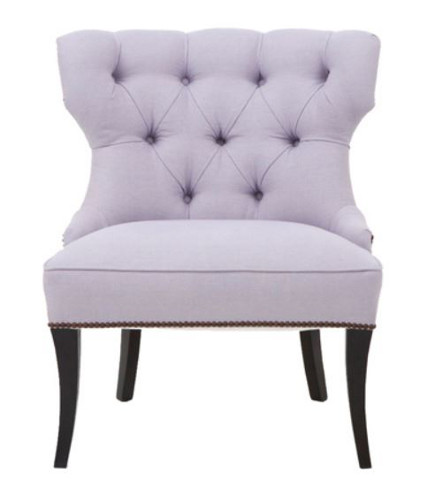 slipper chairs - Harlow tufted scoop-back slipper chair – Windsor Smith via Atticmag