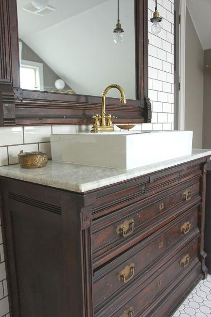 - Eastlake Dresser Bathroom Vanity