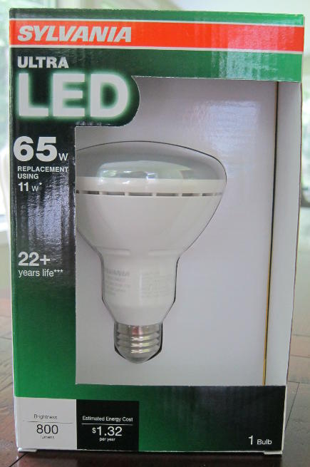 LED light bulbs - Sylvania LED 65 watt replacement bulb - Atticmag