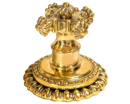 exotic sink faucets - cruciform miramare gold faucet - compas via atticmag